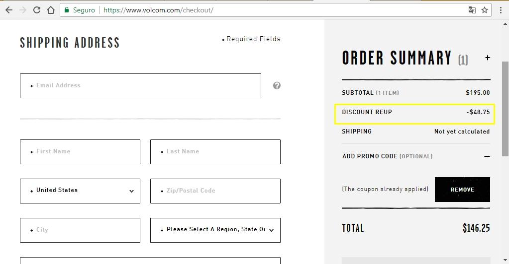 Volcom coupon code