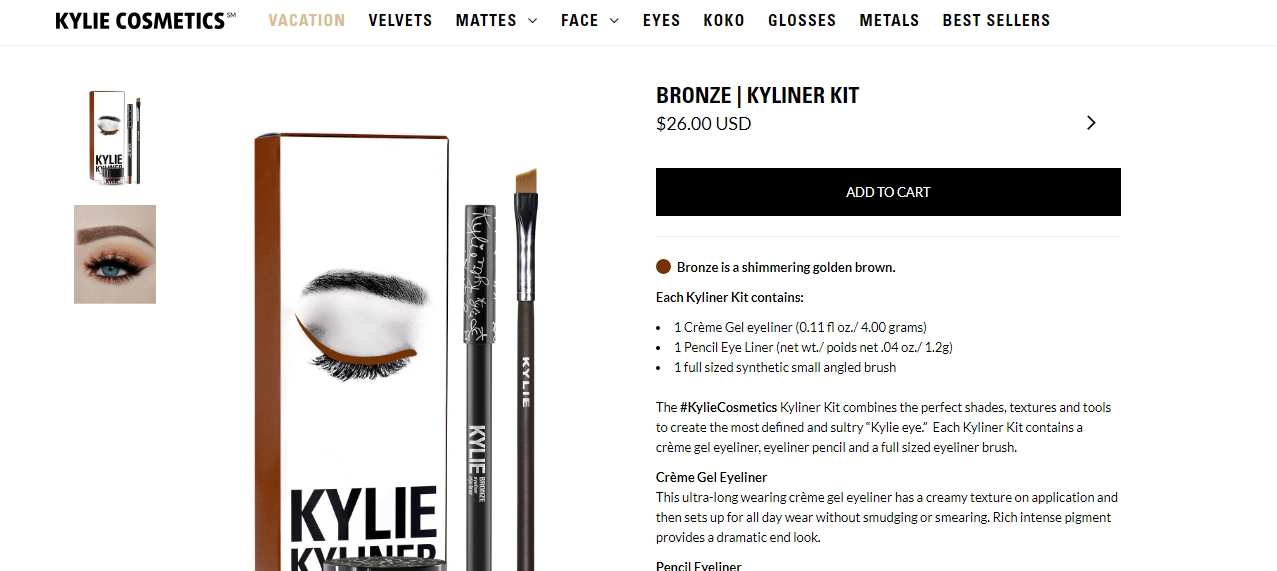 Kylie cosmetics coupon code