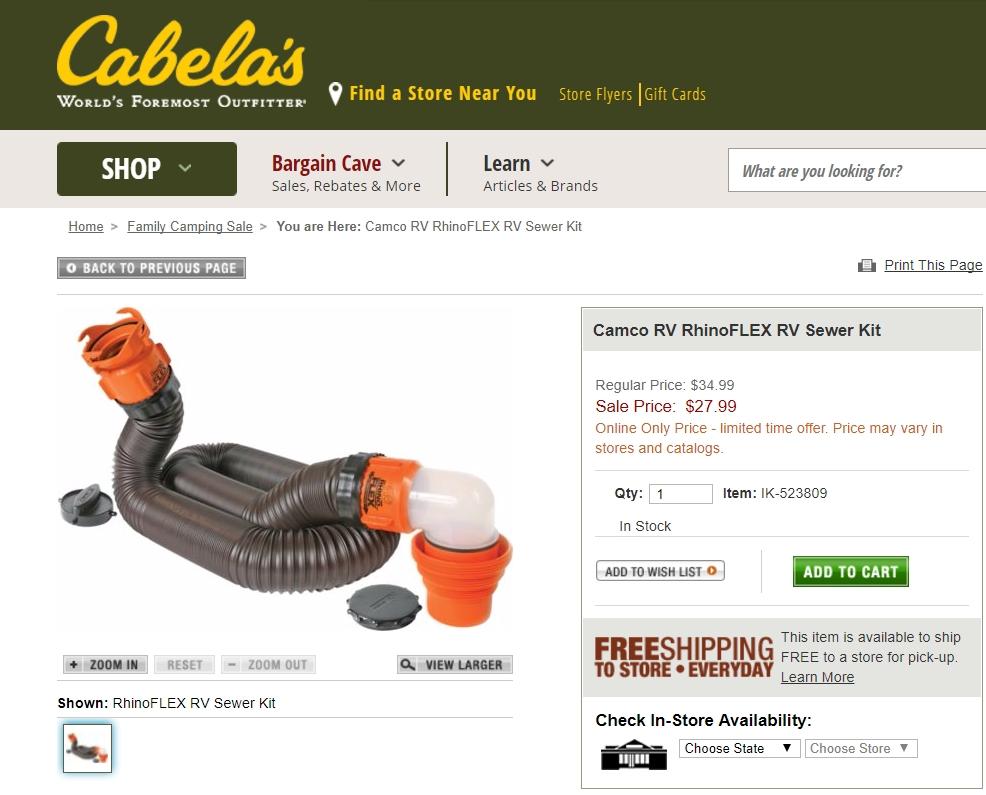 Cabelas deals codes