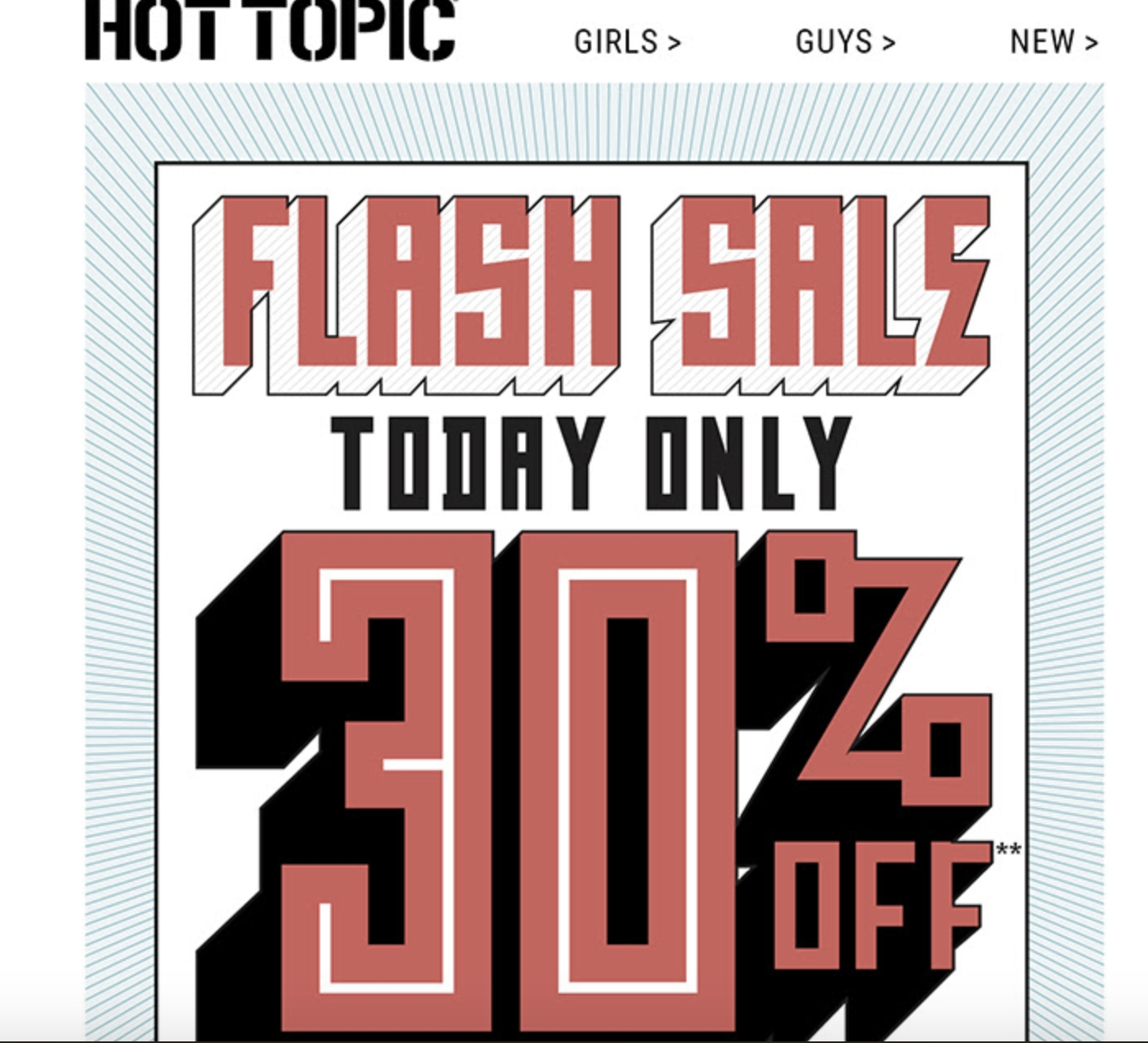 Hot topic discount coupons