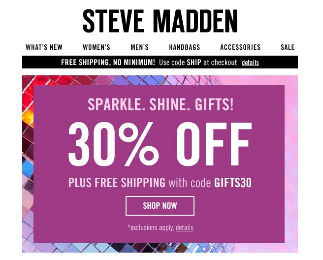 Shop a great selection of Steve Madden at Nordstrom Rack. Find designer Steve Madden Free in-store returns · Earn Nordstrom Rewards™ · Be a shopping genius · New arrivals every week.