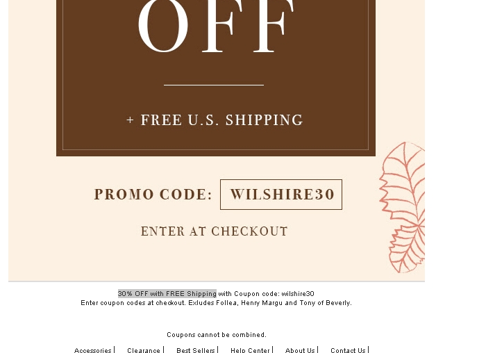 Wilshire Wigs Coupons 65