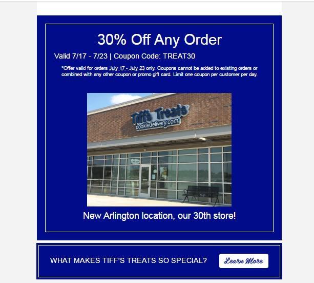 Tiffs treats coupon code