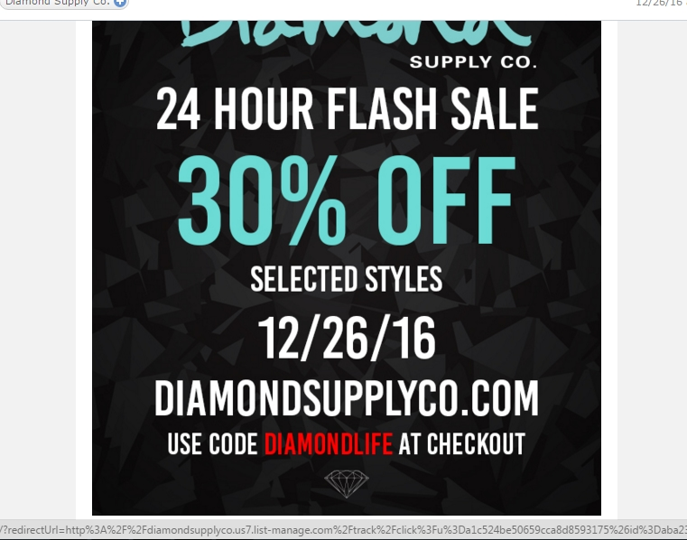 Diamond Supply Co. Promo Codes for December Save 30% w/ 3 active Diamond Supply Co. Sales and Third-party Deals. Today's best bankjack-downloadly.tk Coupon Code: 35% Off Site-Wide at diamond supply co. Get crowdsourced + verified coupons at Dealspotr.5/5(8).