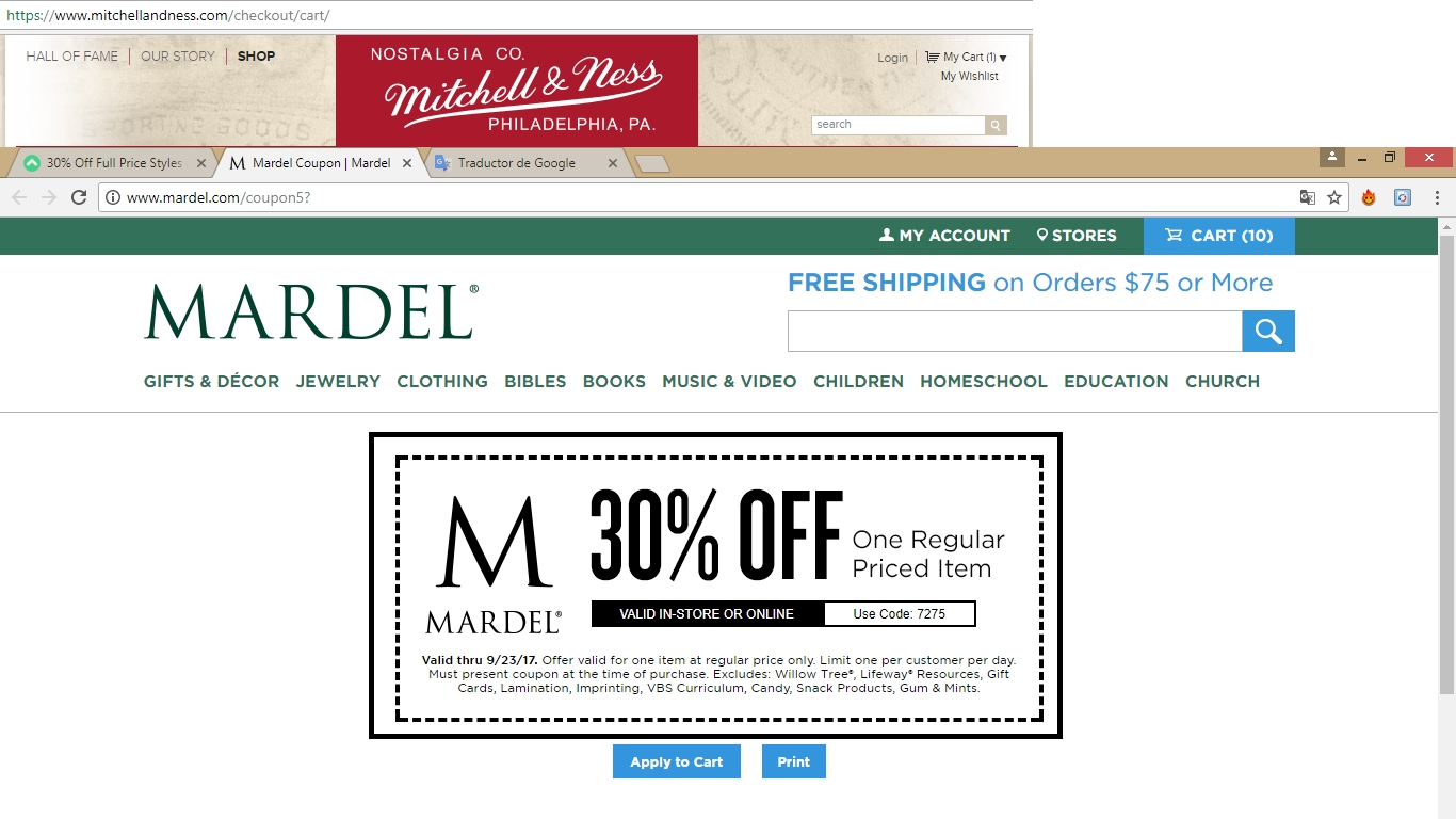 Mardel Christian & Education offers promo codes often. On average, Mardel Christian & Education offers 15 codes or coupons per month. Check this page often, or follow Mardel Christian & Education (hit the follow button up top) to keep updated on their latest discount codes. Check for Mardel Christian & Education's promo code exclusions.5/5(3).