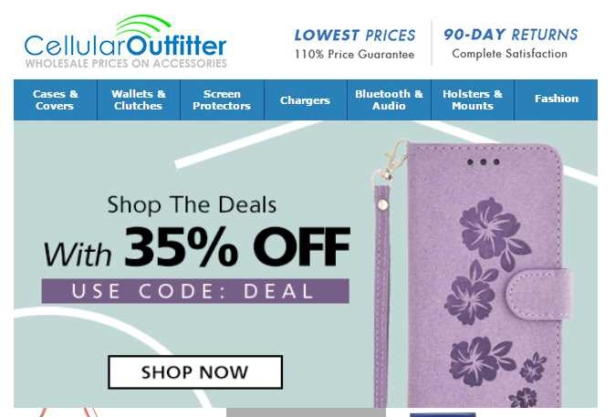 Cellular outfitter coupon code