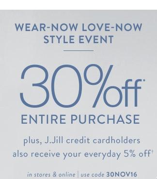 Jjill coupon code
