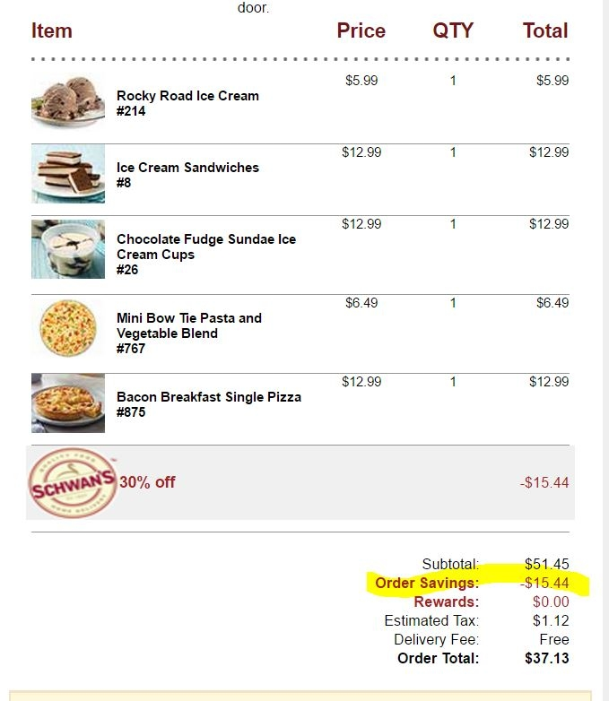 Schwans coupon code