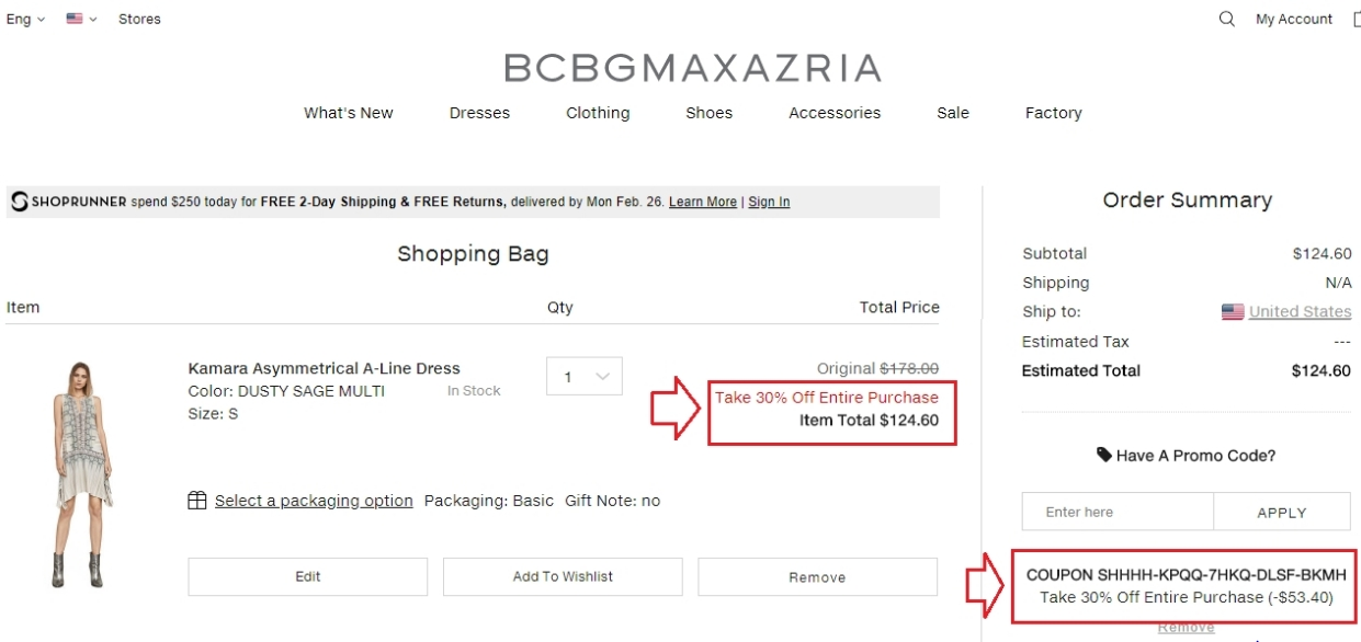 Bcbg coupon codes