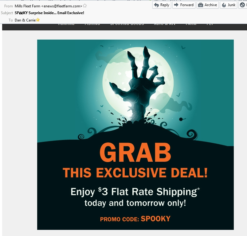 Mills fleet farm coupon code