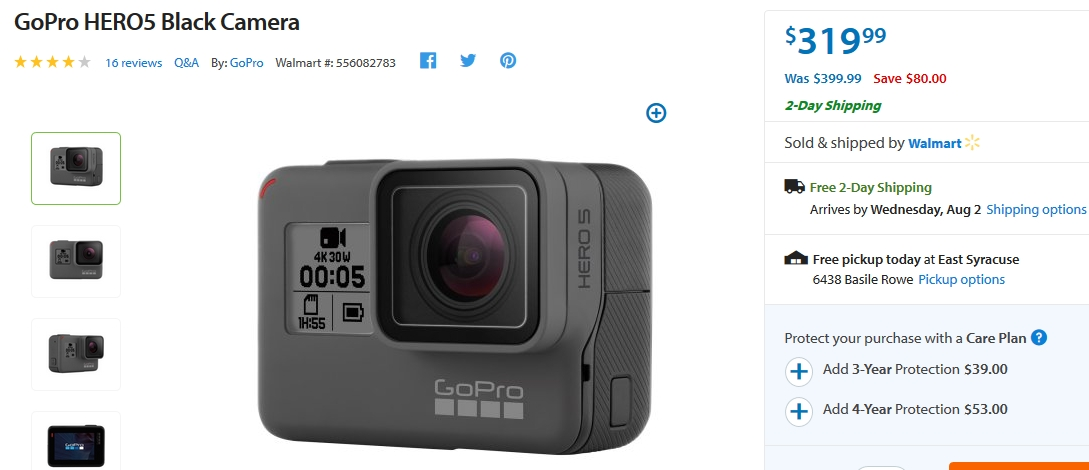 Gopro coupon code