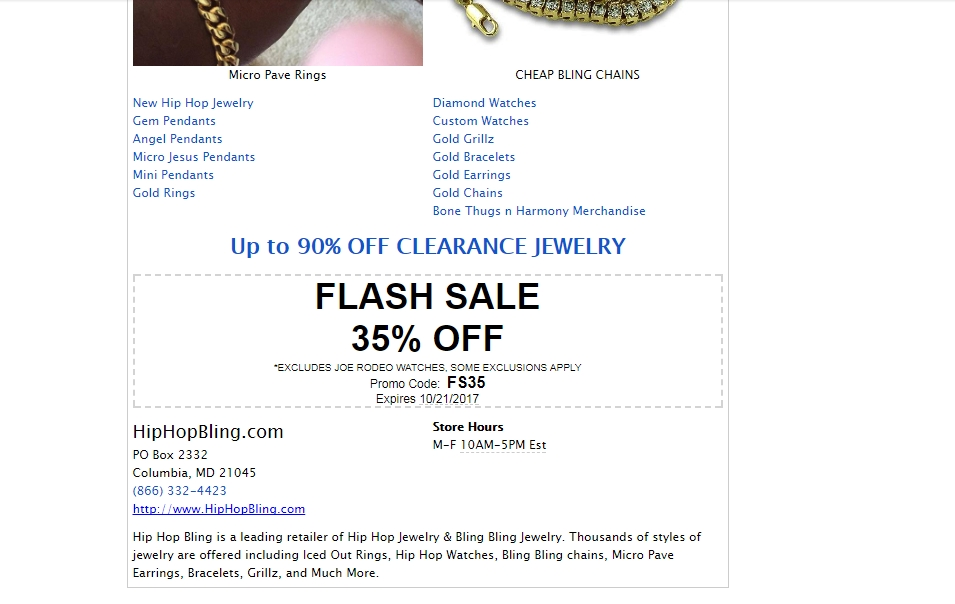 Bling over bling coupon code
