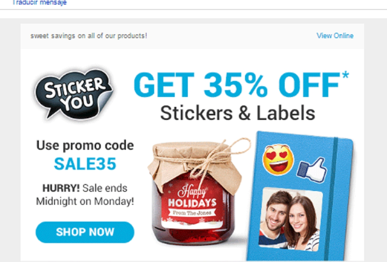 Sticker you coupon code