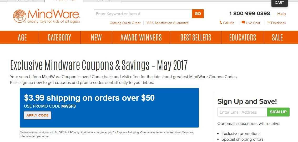 Mindware coupon code