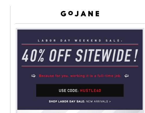 Go jane coupon codes