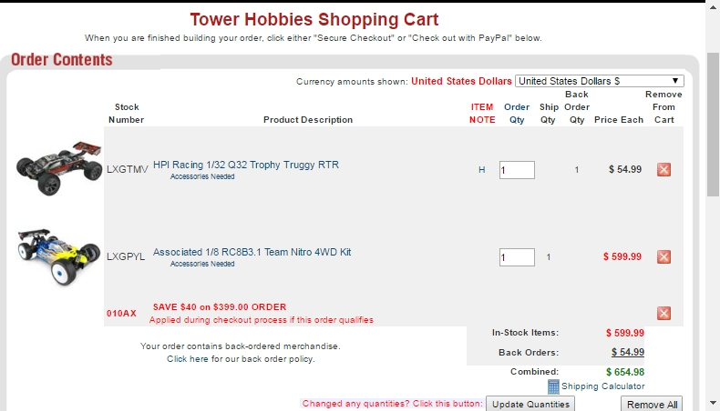 Tower Hobbies Coupons & Promo Codes for May 2019