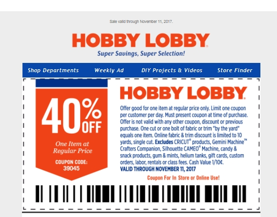 A main hobbies coupons codes