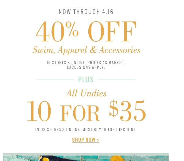 Aerie coupons printable 2018