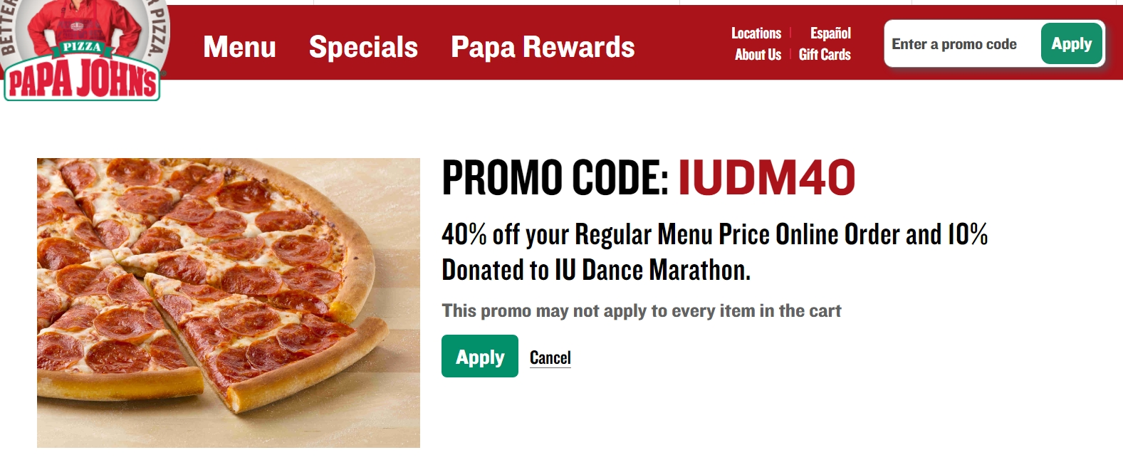 Papa johns coupons retailmenot
