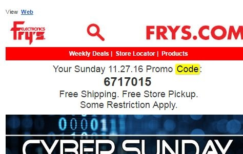 image relating to Frys Printable Coupons called Frys food stuff coupon codes - Wmu campus discount codes