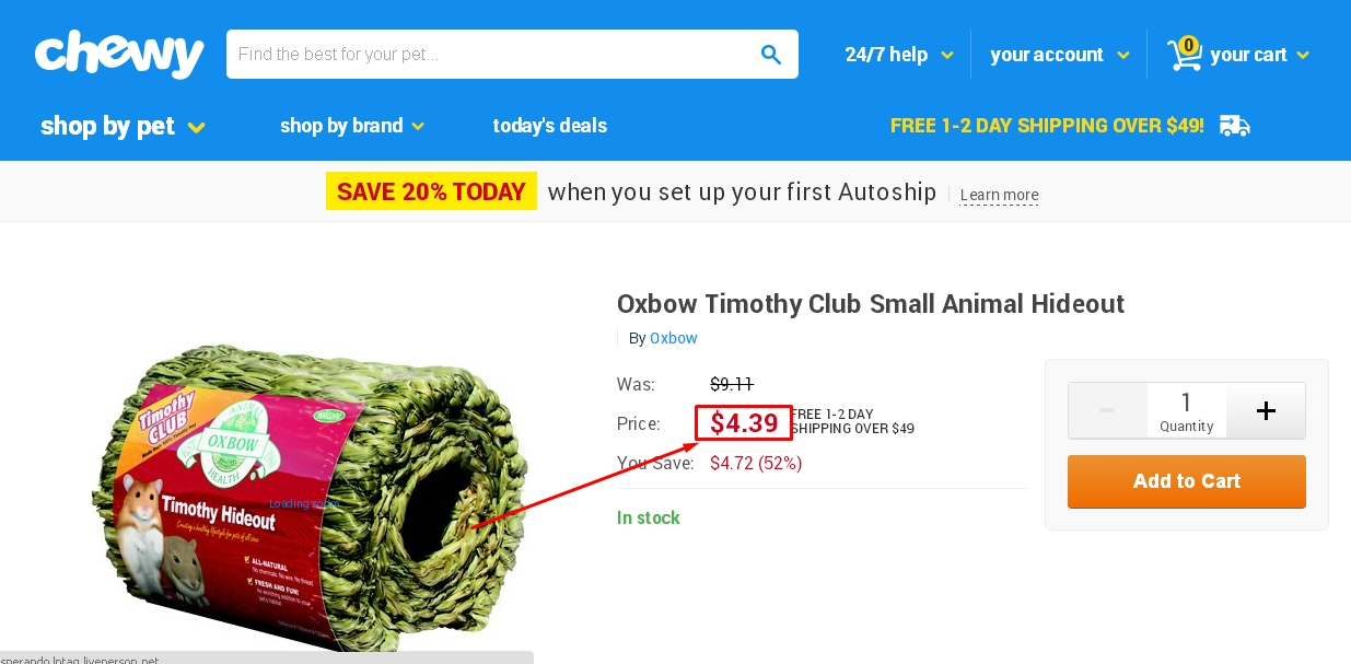 Online coupons for chewy com