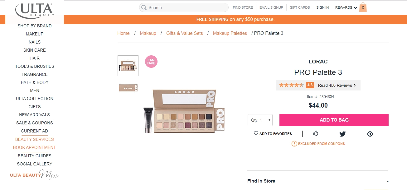 Lorac coupon code