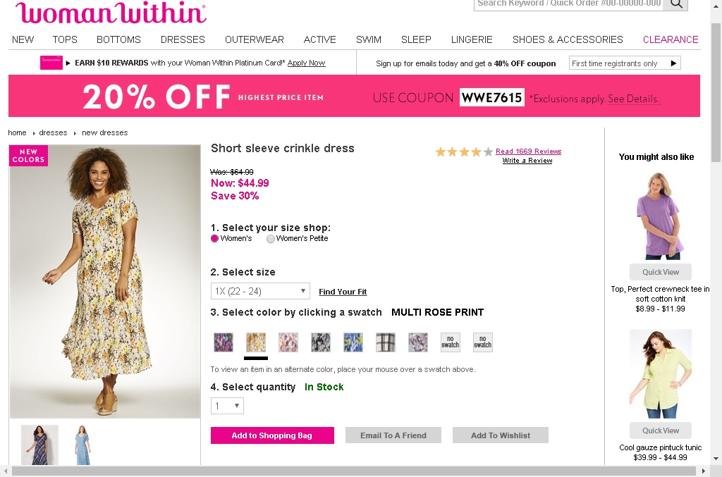 Woman within coupon codes 50 off