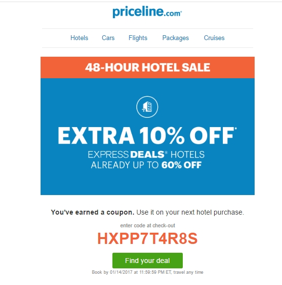 Priceline car rental discount coupons