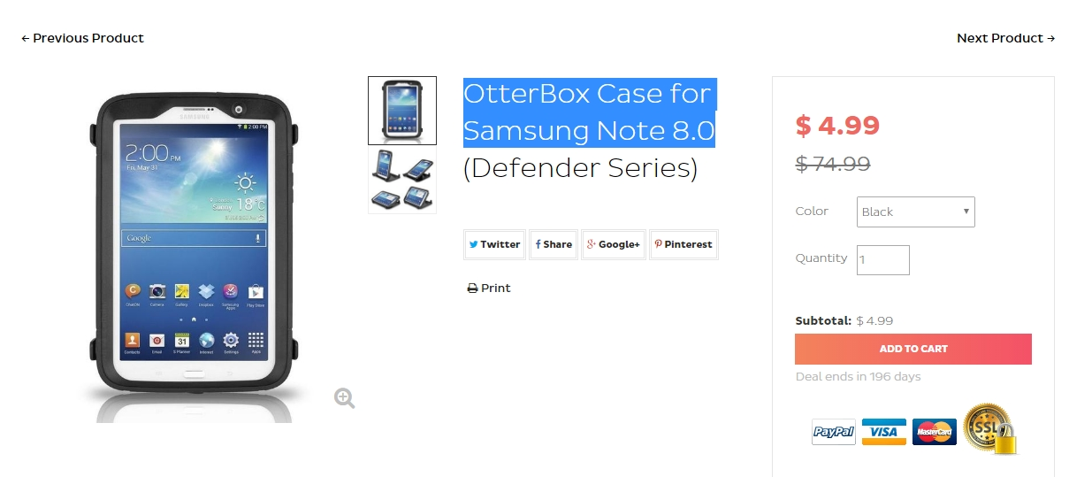 Otterbox Coupon Codes All Active Otterbox Coupons & Coupon Codes - Up To 10% off in December If you want to protect your high-end smartphone, check out the stylish cases that the Otterbox online store has got to offer.
