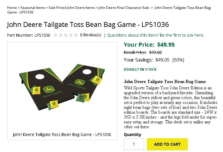Deere coupon code