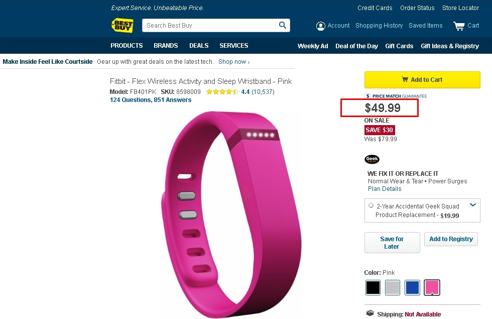 Fitbit coupon code 2018