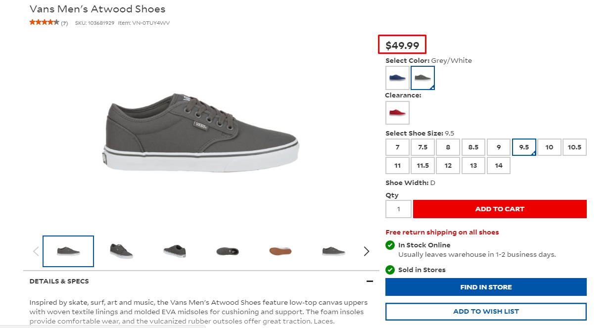 On occasion, Vans will also run limited time promotions. Vans Free Shipping Free shipping is not offered at Vans, but they do offer flat rate shipping of just $ They regularly offer coupon codes for free shipping with a minimum purchase. About Vans Vans is an apparel store based in California that has been in business for over 40 years.
