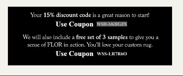 Flor discount code