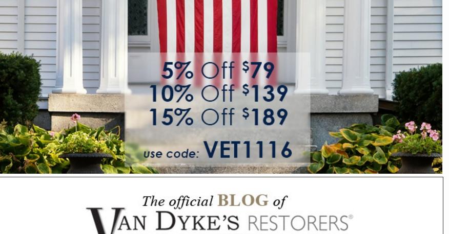 Van dyke restorers coupon code