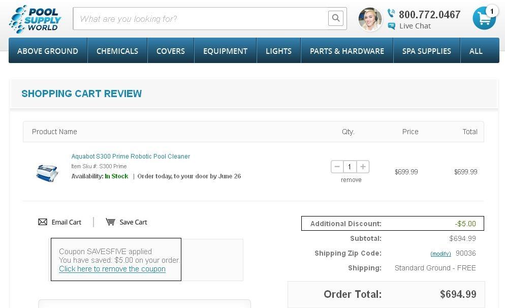 Pool supply world coupon codes
