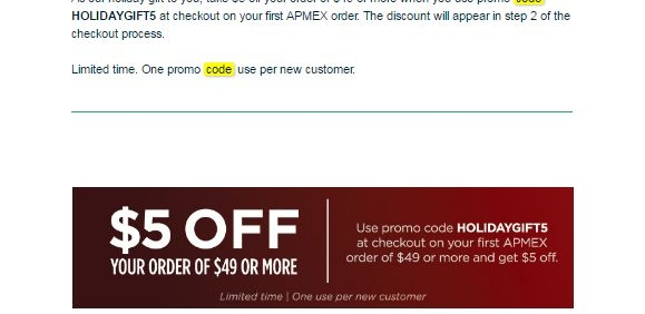 Apmex discount coupons