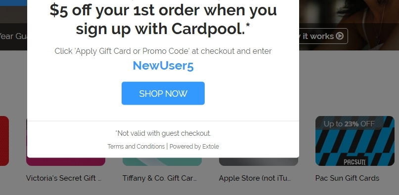 Save with 6 active Cardpool promo codes, coupons, and free shipping deals. 🔥 Today's Top Deal: Get 6% Off Target GiftCards + Save $5 Off. On average, shoppers save $11 using Cardpool coupons from independent-allows.ml