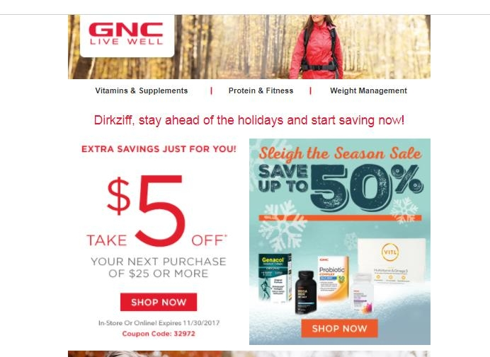 picture about Gnc Coupons in Store Printable named Fng tickets : Vera bradley totally free shipping and delivery coupon code