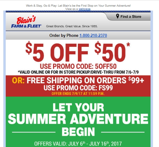 Discounts average $9 off with Mills Fleet Farm promo code or coupon Mills Fleet Farm coupons now on RetailMeNot. Get $20 Off When You Spend $