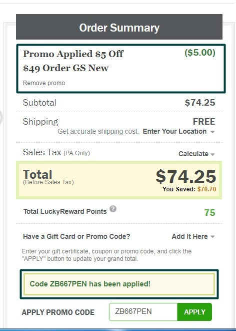 Luckyvitamin coupon code