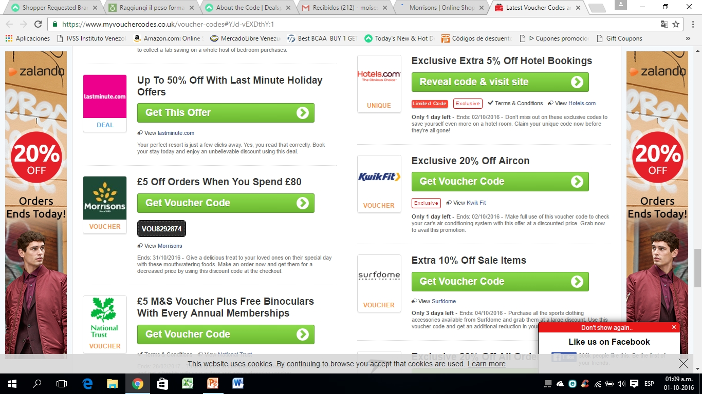 Morrisons coupons online