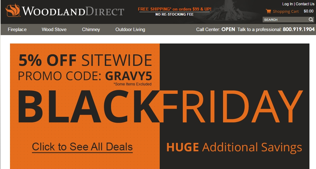 Woodland direct coupon code