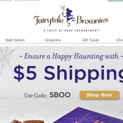 Fairytale brownies coupon code