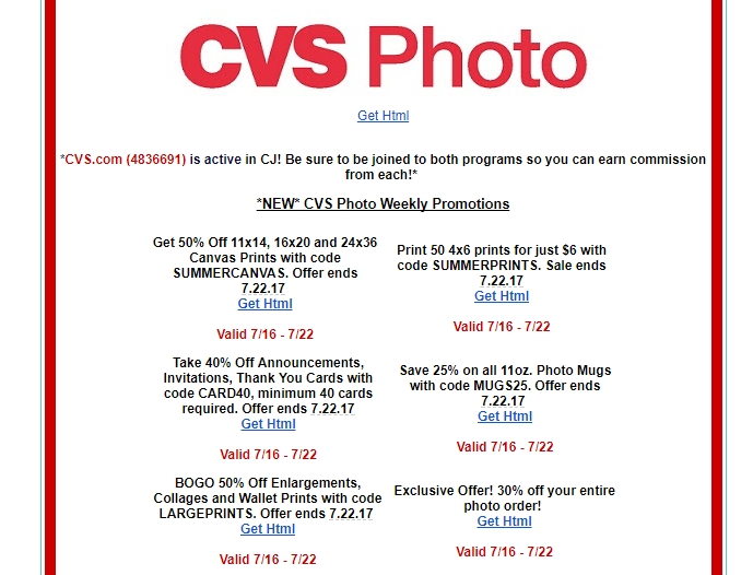 Cvs 4 off 20 coupons ebay