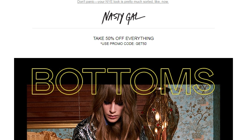 Promo coupon nasty gal