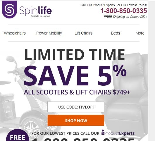 Spinlife coupon code