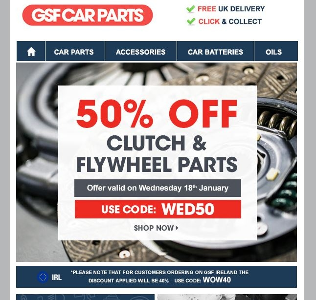 Coupon code for carparts.com