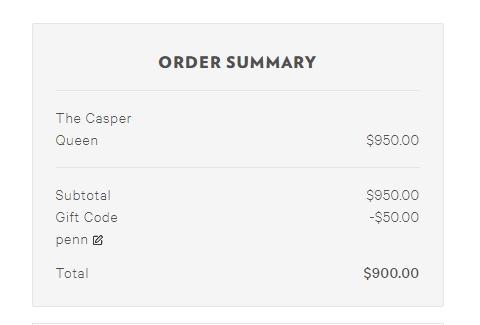 45 off casper coupon code casper 2018 promo codes dealspotr. Black Bedroom Furniture Sets. Home Design Ideas