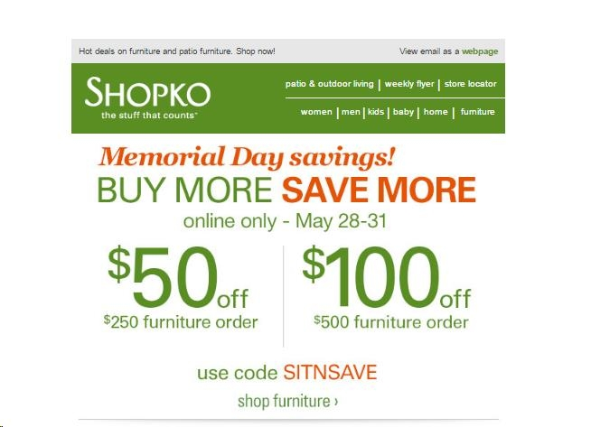 picture about Shopko 20 Off Printable Coupon identify Shopko codes - Ruth chris barrington menu