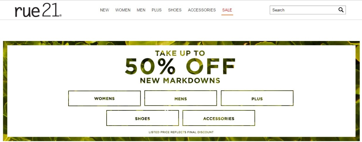 image regarding Rue 21 Printable Coupon titled Rue 21 cost-free shipping and delivery promo code : Rocks upon the river savannah